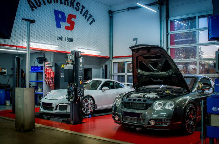 Bentley & Porsche